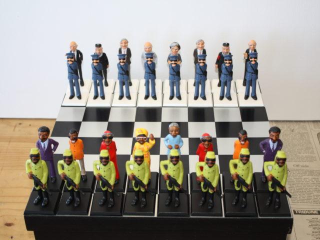 Old vs New SA Chess set Limited Ed