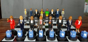 State Capture Chess Set Front Row Details